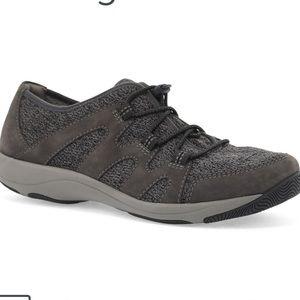 Dansko | Women's Gray Holland Suede Sneakers